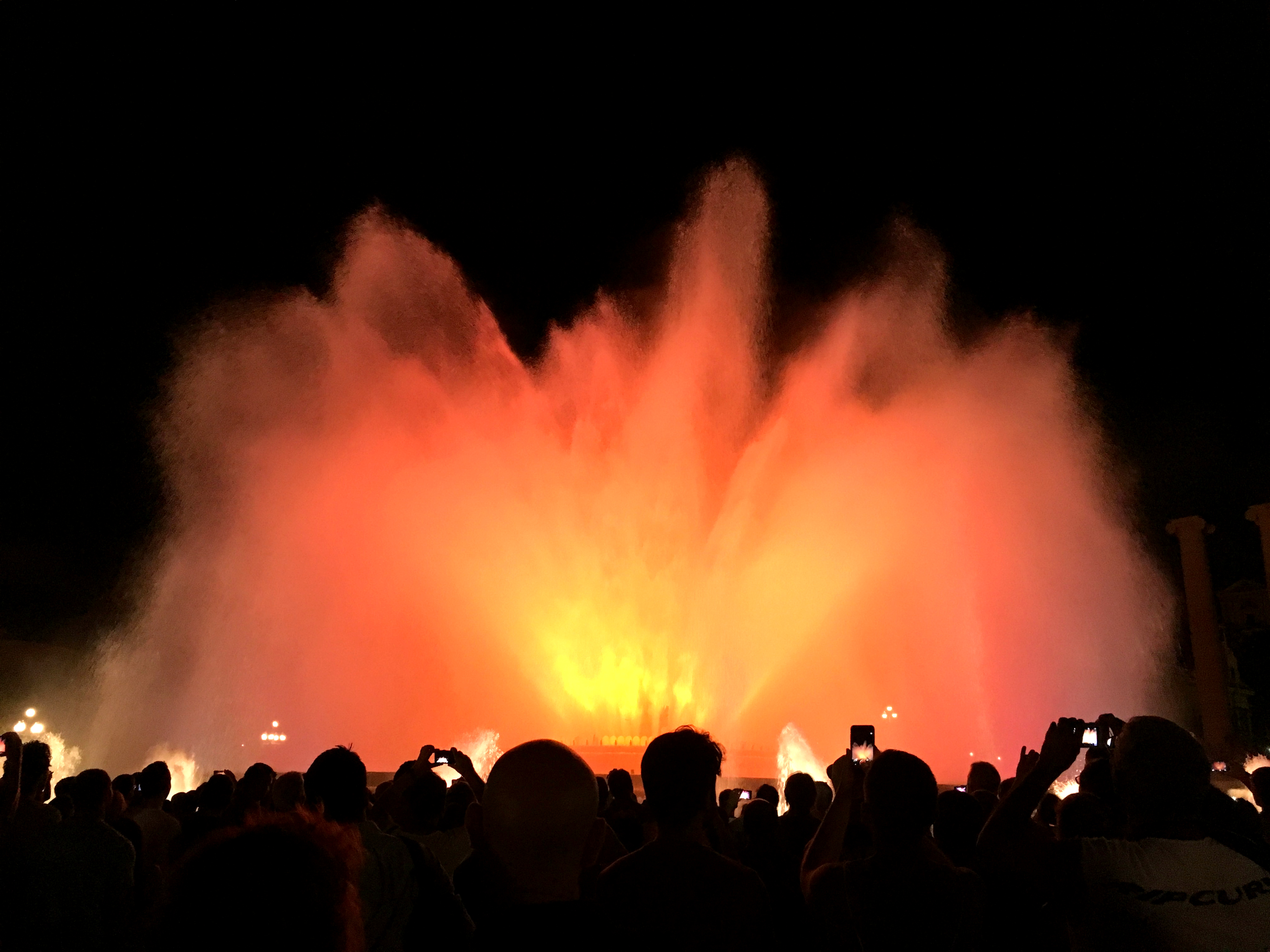Barcelona Magic Fountain 1