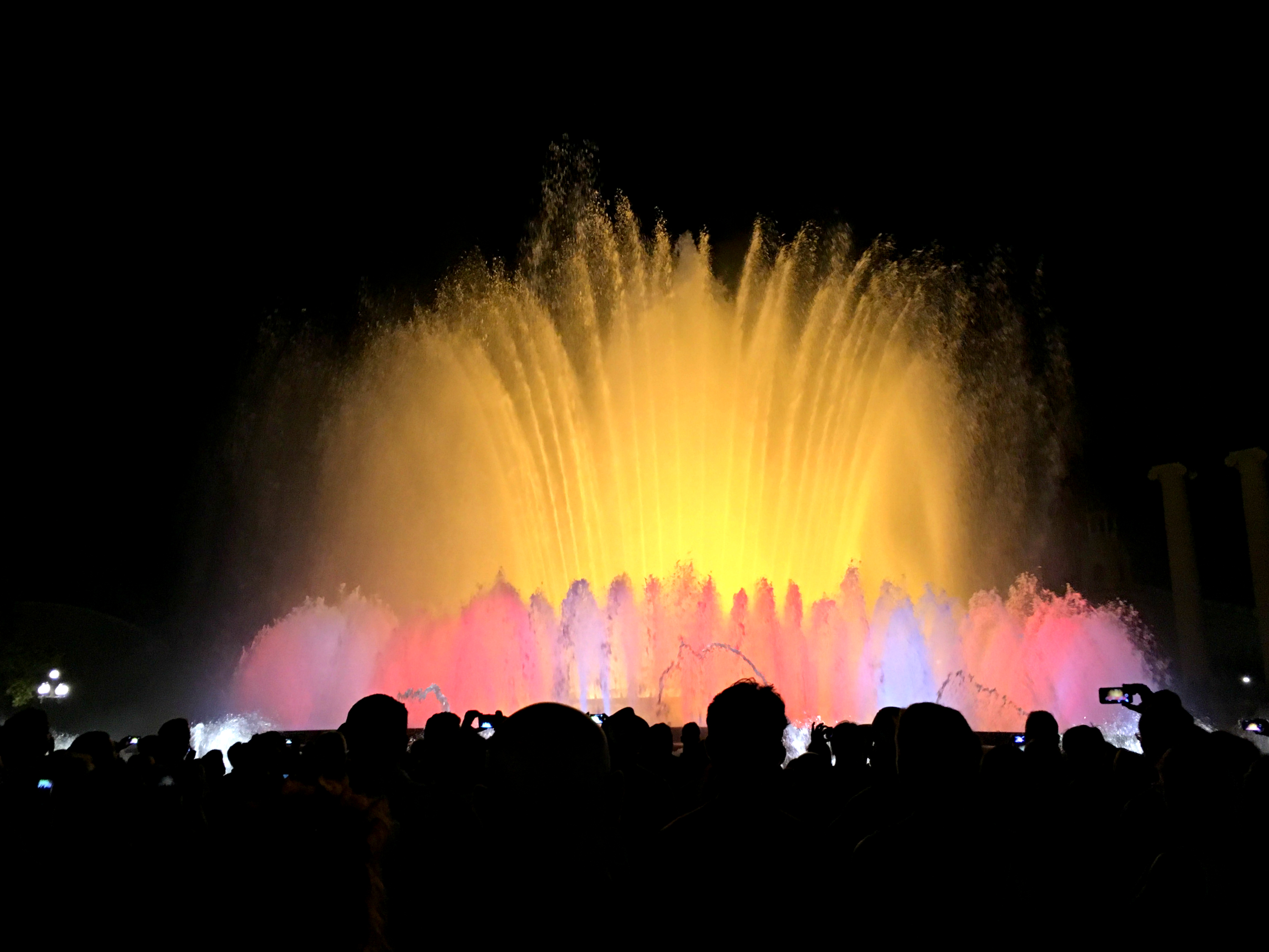 Barcelona Magic Fountain 2