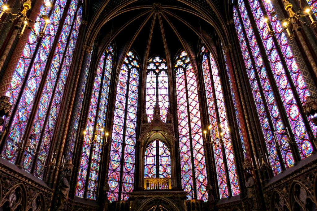 Paris - Sainte-Chapelle Stained Glass 2