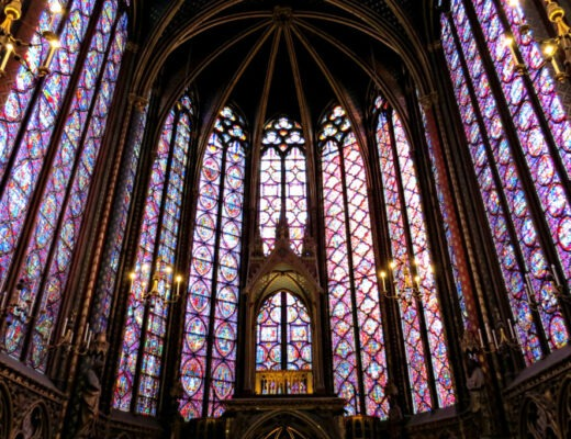 Paris - Sainte-Chapelle Stained Glass 2