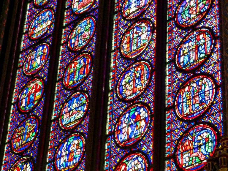 Paris - Sainte-Chapelle Stained Glass