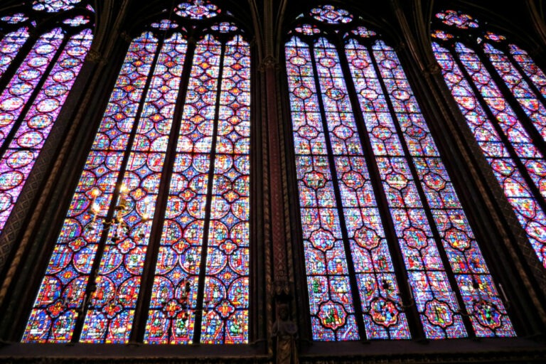 Paris - Sainte-Chapelle Stained Glass 4
