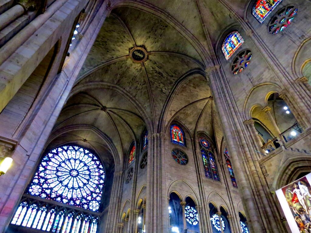 Interior of Notre-Dame 1
