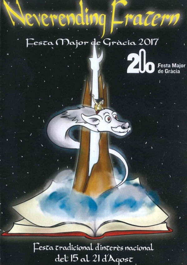 Gracia Barcelona - Neverending Story Poster
