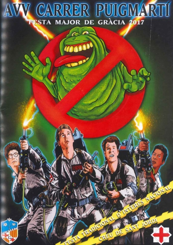 Gracia Barcelona - Ghostbusters Poster