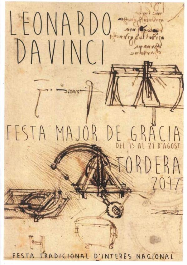 Gracia Barcelona - Da Vinci Poster