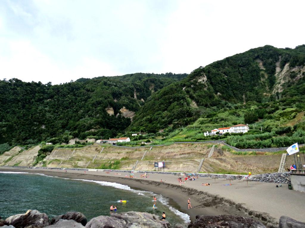Beach Sao Miguel Azores Praia do Fogo
