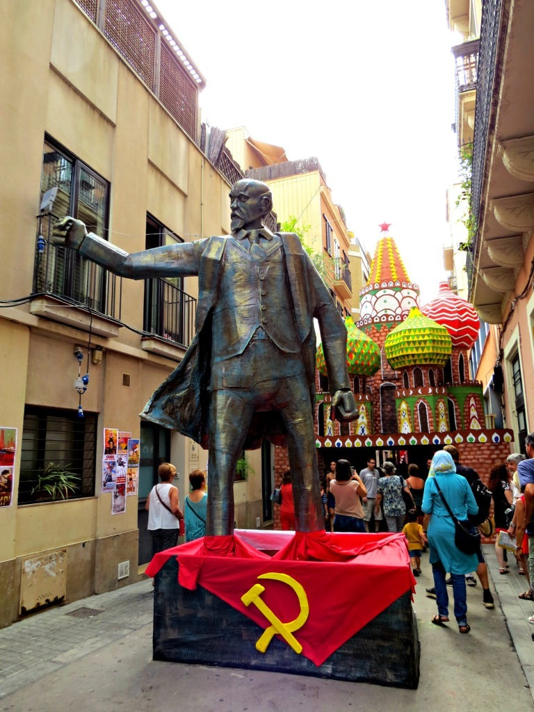 Barcelona Gracia - Russian Revolution 1