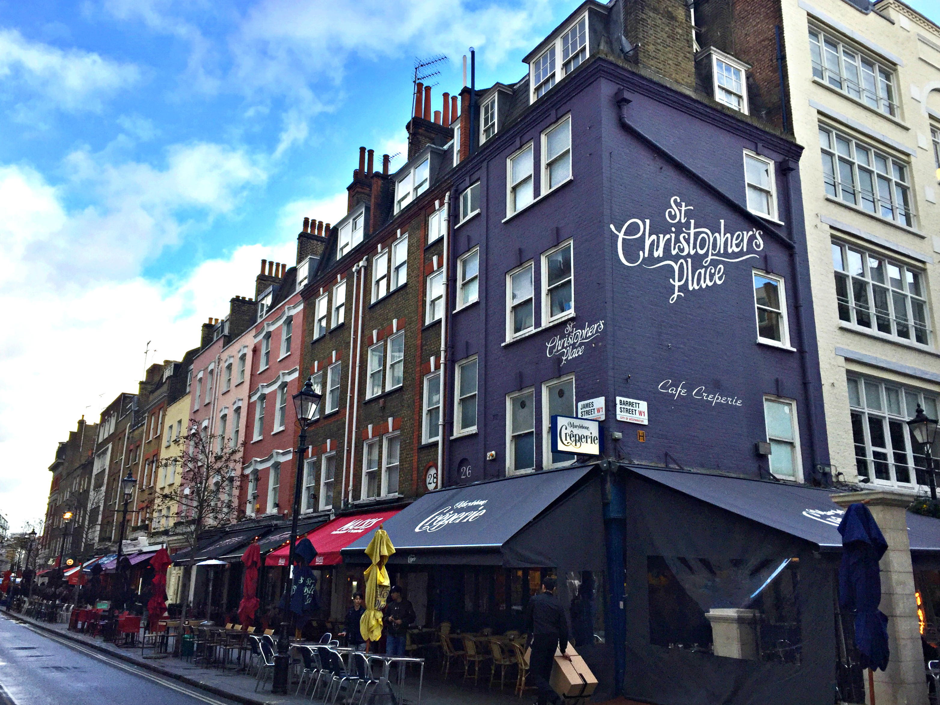 London St. Christopher's Place