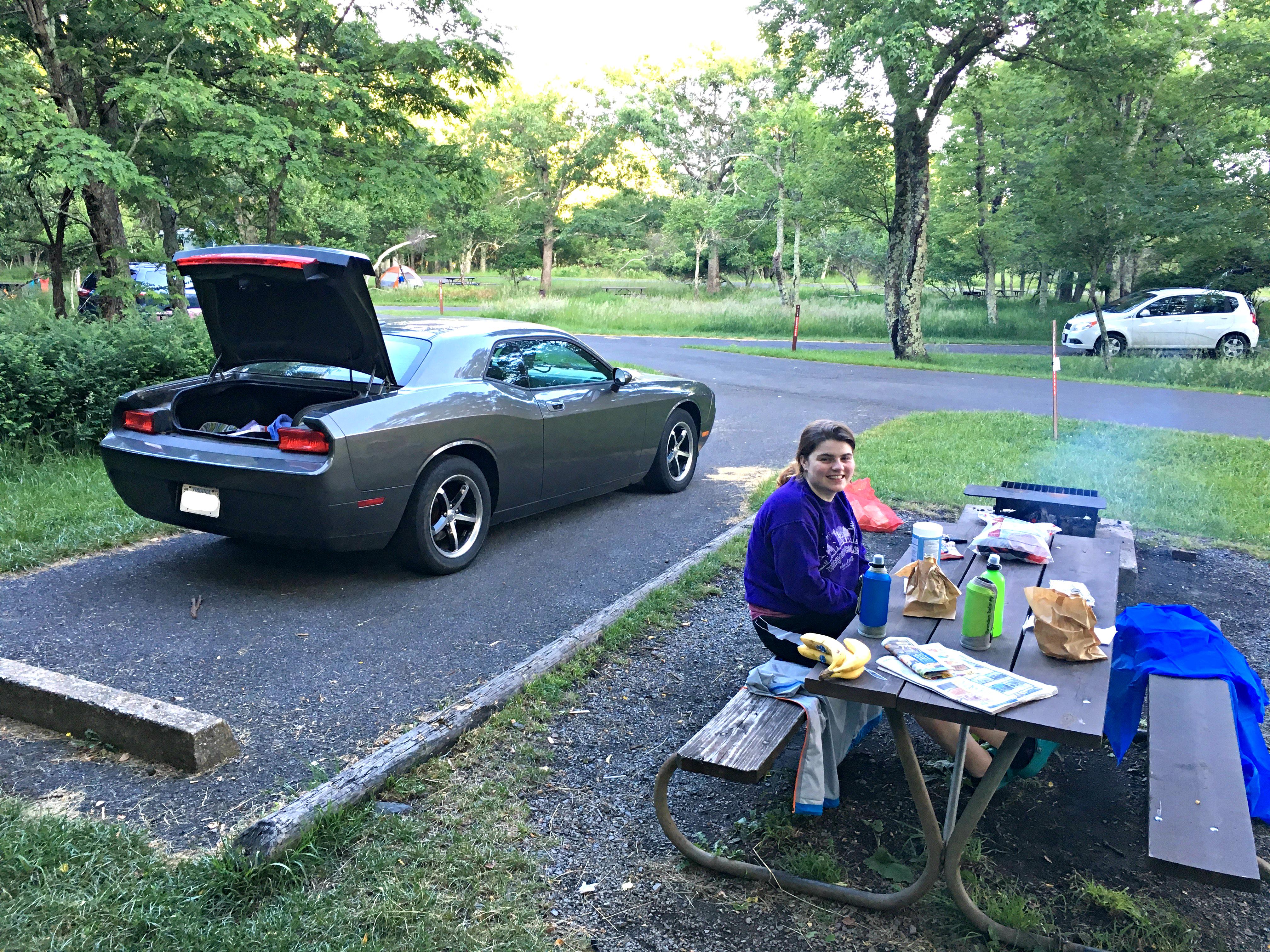 Shenandoah Camping 1