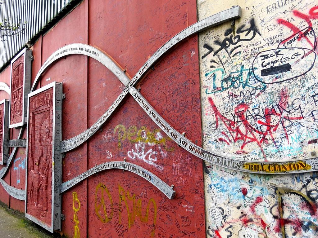 Belfast Peace Wall 1