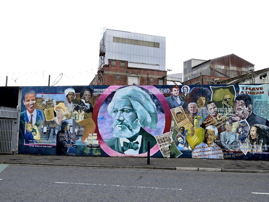 Belfast International Wall 1
