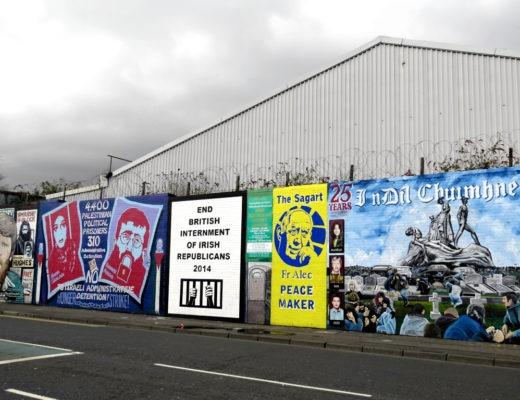 Belfast International Wall 2