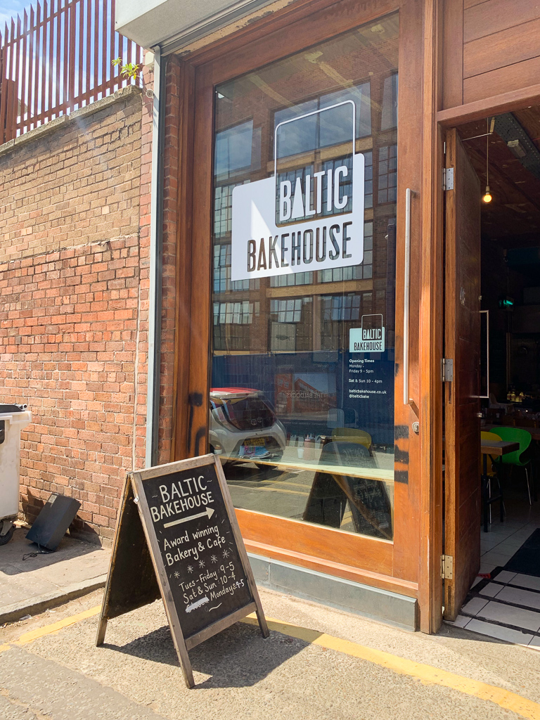 Liverpool baltic triangle bakery