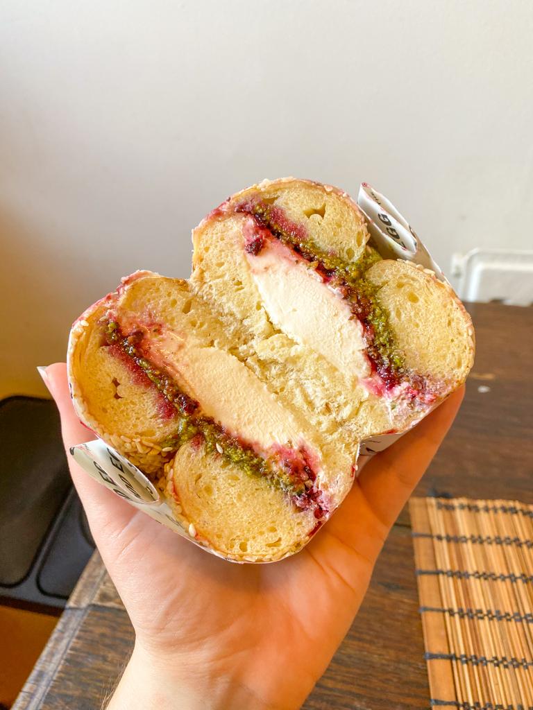 london sandwich bagel