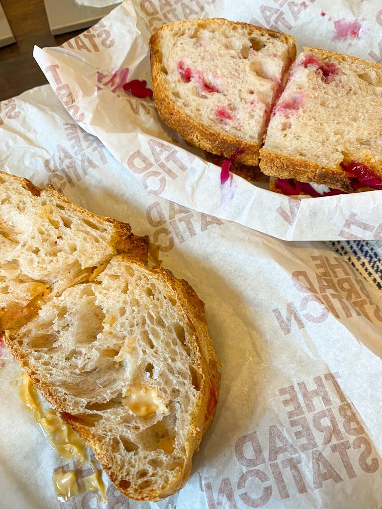 london hackney sandwich the bread station