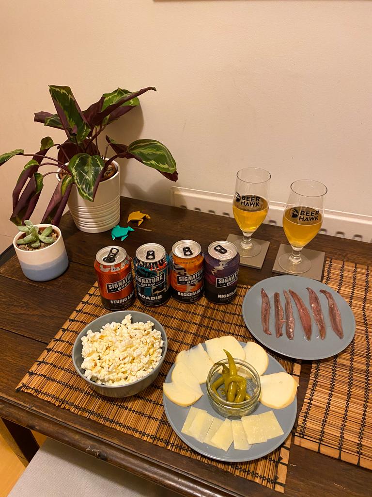 lockdown activity beer tasting