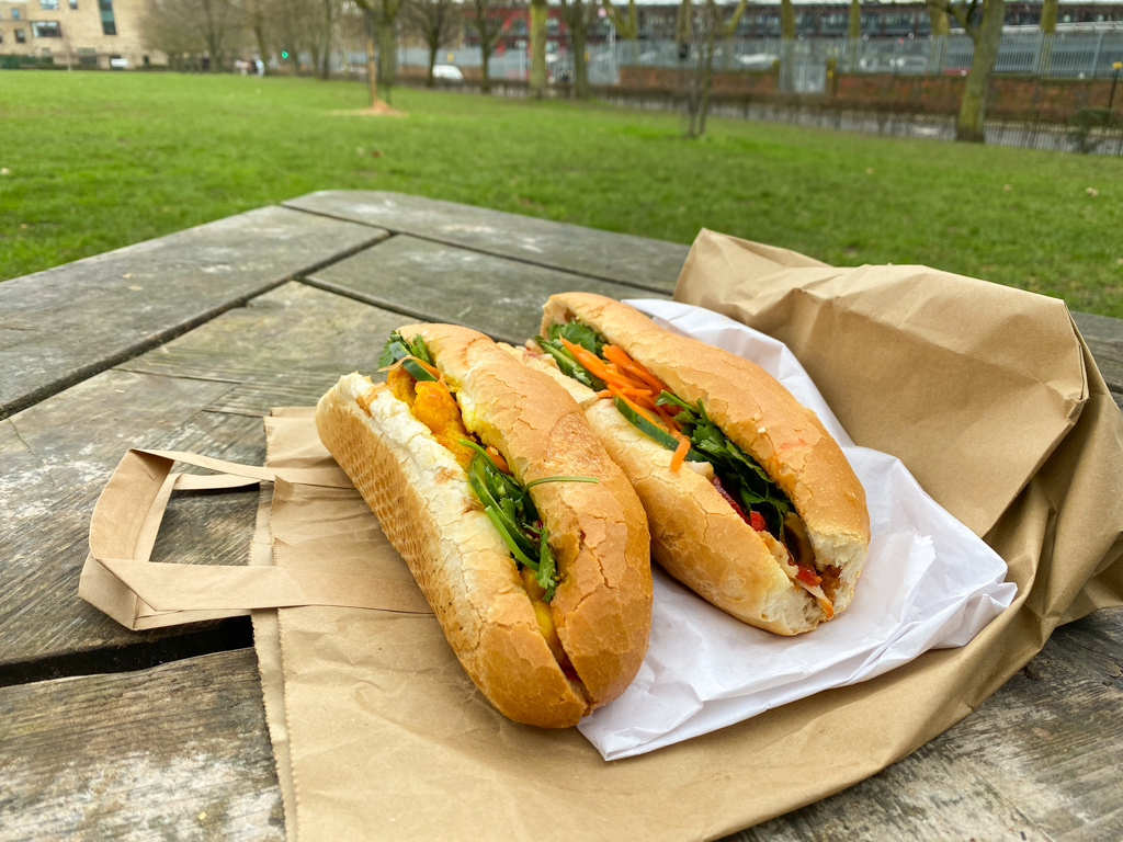 london hackney sandwich banh mi