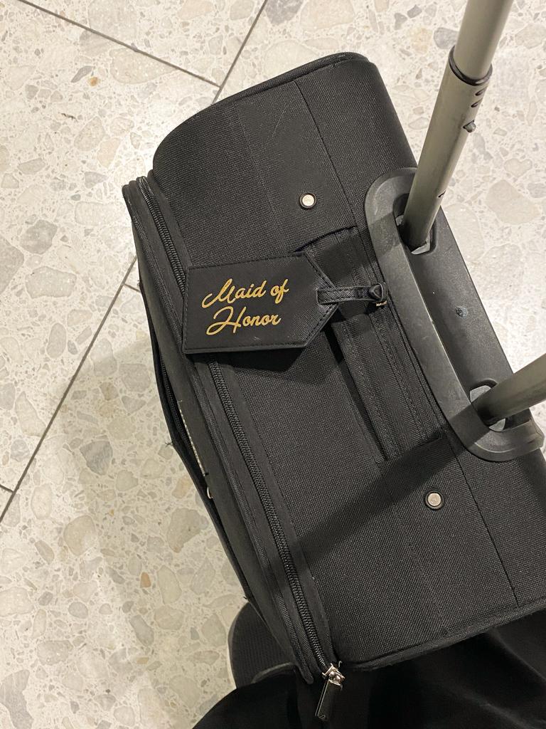 transatlantic trip luggage