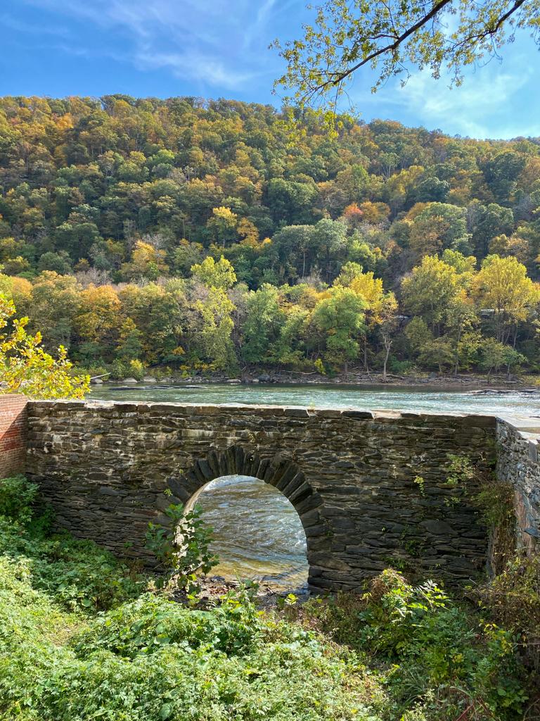 harpers ferry bridge overlook