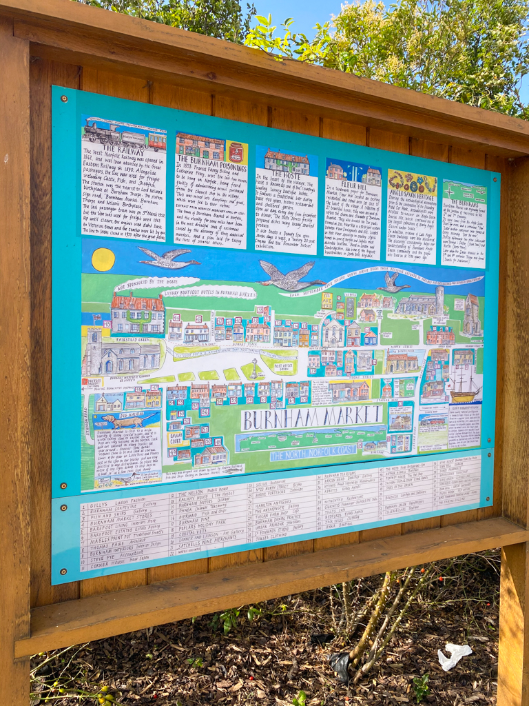 Burnham Market map