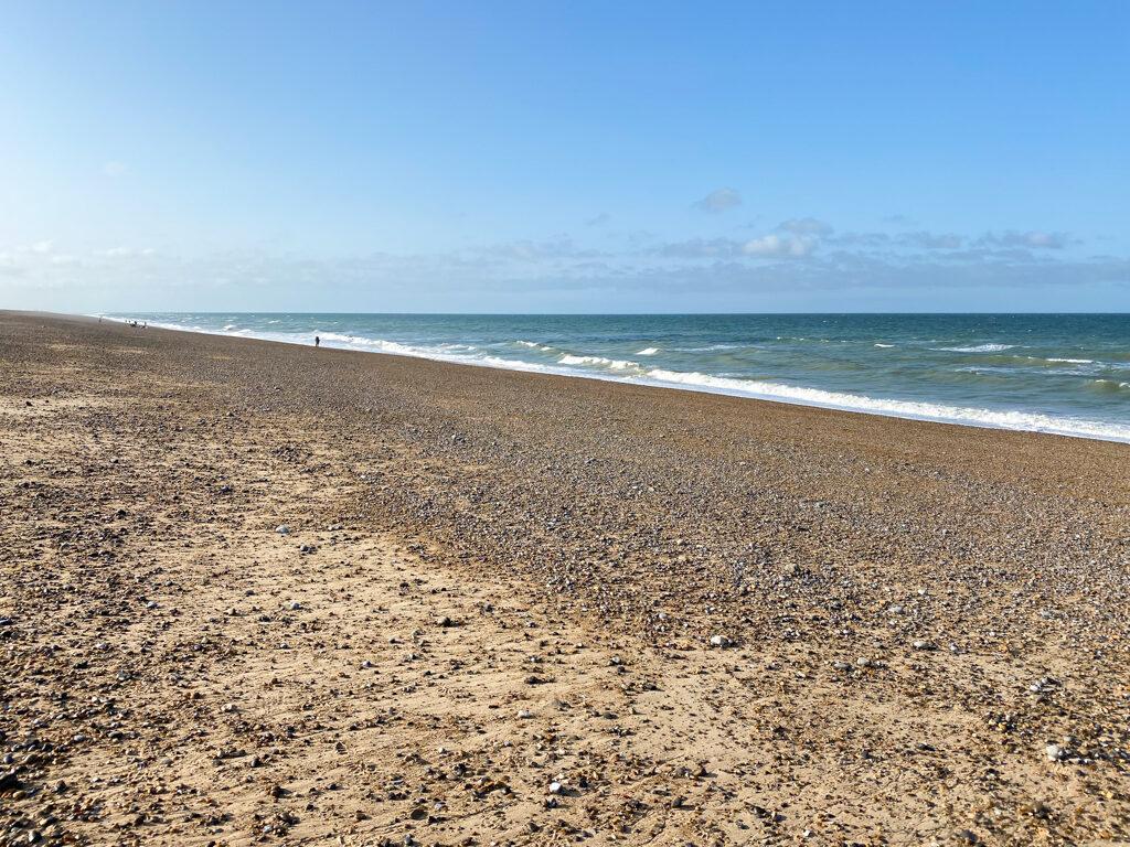 Cley beach